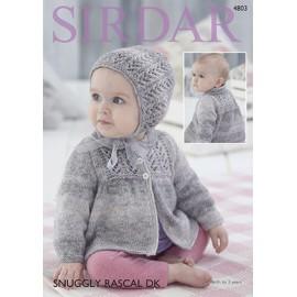 Sirdar - Snuggly Rascal DK - Pattern 4803
