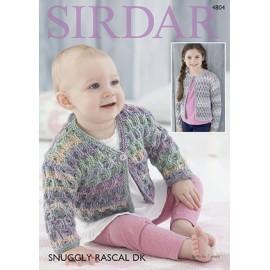 Sirdar - Snuggly Rascal DK - Pattern 4804