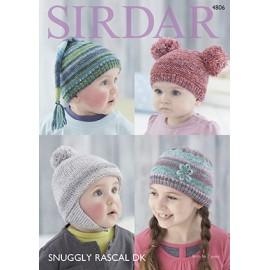 Sirdar - Snuggly Rascal DK - Pattern 4806