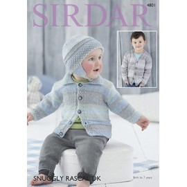 Sirdar - Snuggly Rascal DK - Pattern 4801