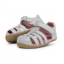 Bobux - Step Up Jump Sandal Silver Shimmer