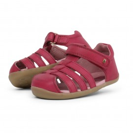 Bobux - Step Up Jump Sandal Dark Pink