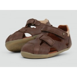 Bobux - Step Up Chase Sandal Brown