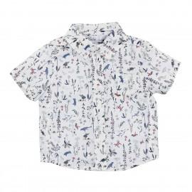 Bebe -Liberty Short Sleeve Printed Shirt - Theo CC