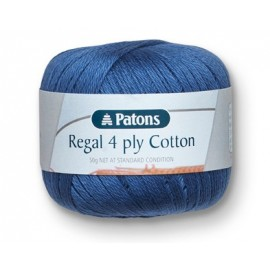 Regal 4 Ply Cotton Patons - 50g
