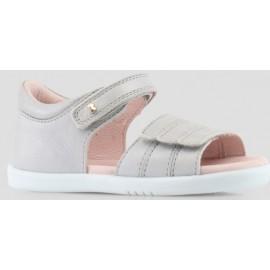 Bobux - I Walk Hampton Sandal - Silver Shimmer