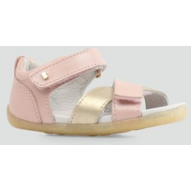 Bobux - Step Up Sail Sandal Blush + Misty Gold