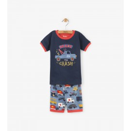 Hatley - Rush Hour Applique Short Pyjama Set