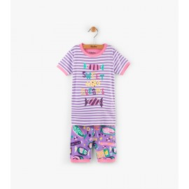 Hatley - Kitty Candy Applique Short Pyjama Set