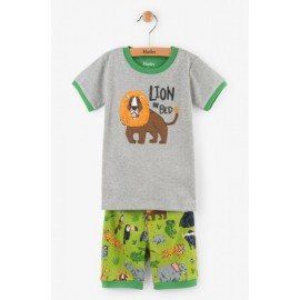 Hatley - Safari Adventure Applique Short Set