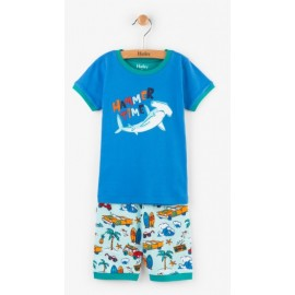 Hatley - Surf Island Applique Short Pyjama Set