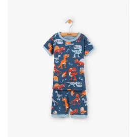 Hatley - Volcanoes & Dinos Short Pyjama Set