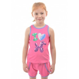 Thomas Cook Clothing - Girls Balloon Horse Pyjamas - Pink