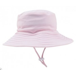 Bebe - Emma Plain Sun Hat - Pink Angel