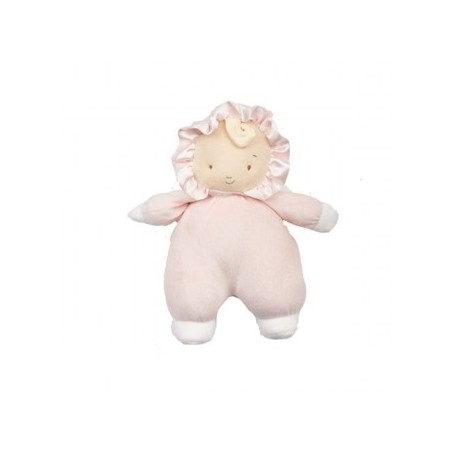 Bunnies by the Bay - Baby Curl Doll with Rattle 23cm