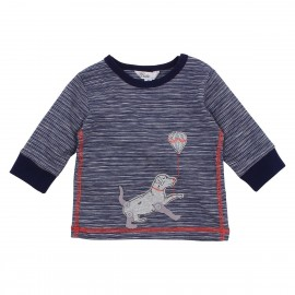 Bebe - Magnus Dog Stripe Tee