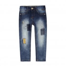Boboli - Boys Denim Stretch Jeans - Navy