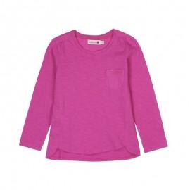Boboli - Girls Combined Long Sleeve Top - Pink