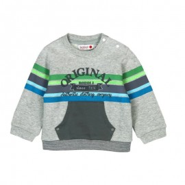 Boboli - Baby Boys Fleece with Pockets Sweatshirt