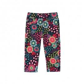 Boboli - Girls Stretch Fleece Pants - Floral