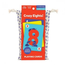 Mudpuppy - Crazy Eights Playing Cards