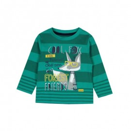 Boboli - Boys 100% Cotton Long Sleeve Tee