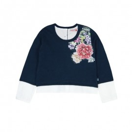 Boboli - Knitwear Pullover for Girls - Navy