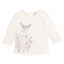 Bebe - Tabitha Deer Tee - Cloud