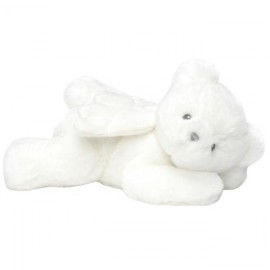 Baby Gund - BEAR: MY LITTLE ANGEL BEAR WHITE WITH CHIME 23CM