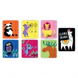 Mudpuppy - Llama Drama Playing Cards