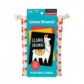 Mudpuppy - Llama Drama Playing Cards
