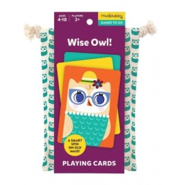 Mudpuppy - Wise Owl Playing Cards