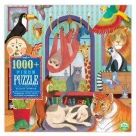 Eeboo - 1008 Piece Puzzle - Wildlife Interior