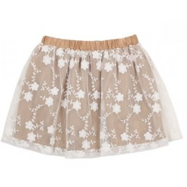 Tahlia - Boston Lace Skirt Gold