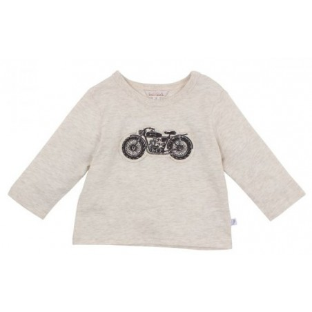 Fox & Finch - Cruiser Motorcycle Tee - Oat Marl