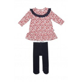Marquise - Meadow Dress and Leggings - Print/Navy