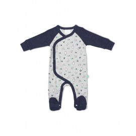 Marquise - Printed Footed Studsuit