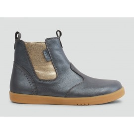Bobux - Kids+ Jodhpur Boot Charcoal Shimmer