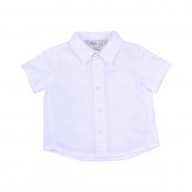 Bebe - Louis Knit Linen Shirt - White