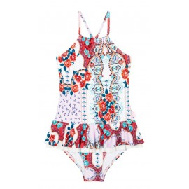 Seafolly - Sea Gypsy Apron Tank - Multi