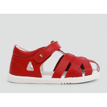 Bobux - I Walk Tropicana Closed Sandal - Rio Red