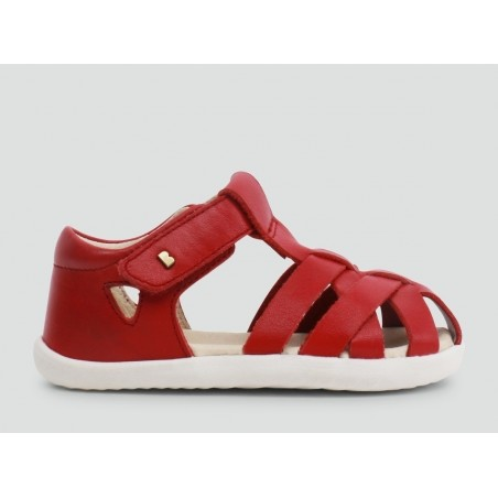 Bobux - Step Up Tropicana Closed Sandal - Rio Red