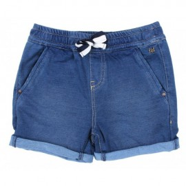 Fox & Finch - Seven Seas Knit Denim Short - Denim