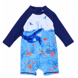 Bebe - Cody Whale Sunsuit -...