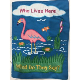 Who Lives Here Cloth Book -...